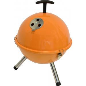 Tafelbarbecue rond oranje