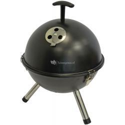 Tafelbarbecue rond zwart