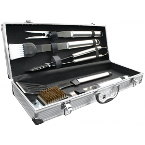 4-delige luxe bbq set