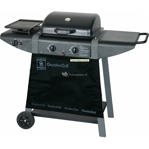 Bistro Twin Plus barbecue