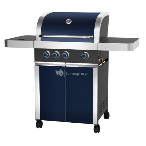 Prominent 3+ burner blue cabinet