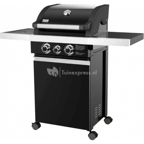 Patton Patio Chef 2+ burner barbecue